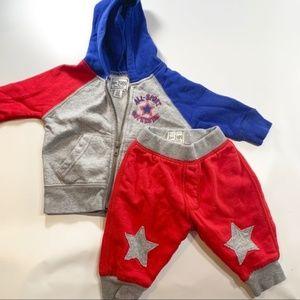 1989 Place | Two Piece Seeat Pants & Zipper Hoodie